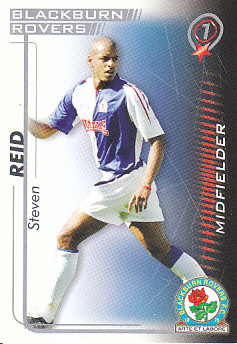 Steven Reid Blackburn Rovers 2005/06 Shoot Out #65