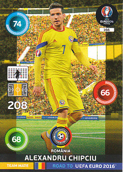 Alexandru Chipciu Romania Panini Road to EURO 2016 #166