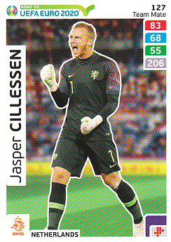 Jasper Cillessen Netherlands Panini Road to EURO 2020 #127