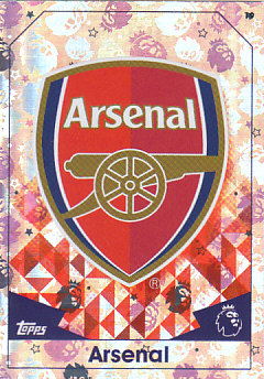 Club Badge Arsenal 2016/17 Topps Match Attax #19