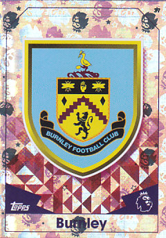 Club Badge Burnley 2016/17 Topps Match Attax #37