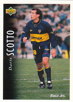 Dario Scotto Boca Juniors 1995 Upper Deck Futbol Argentina #15