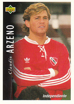 Claudio Arzeno Atletico Independiente 1995 Upper Deck Futbol Argentina #24
