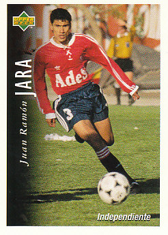 Juan Ramon Jara Atletico Independiente 1995 Upper Deck Futbol Argentina #31