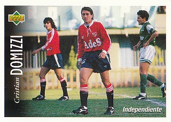 Cristian Domizzi Atletico Independiente 1995 Upper Deck Futbol Argentina #36