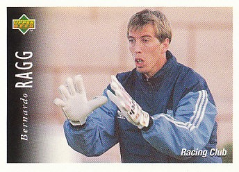 Bernardo Ragg Racing Club 1995 Upper Deck Futbol Argentina #38