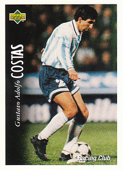 Gustavo Adolfo Costas Racing Club 1995 Upper Deck Futbol Argentina #40