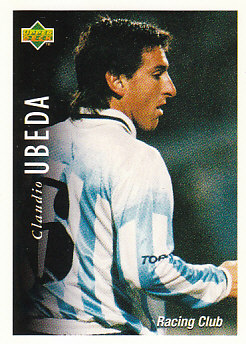 Claudio Ubeda Racing Club 1995 Upper Deck Futbol Argentina #42