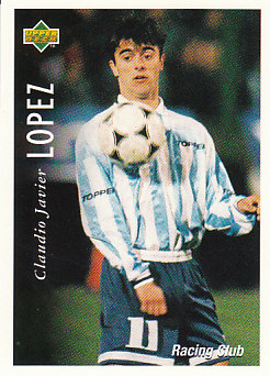 Claudio Lopez Racing Club 1995 Upper Deck Futbol Argentina #47