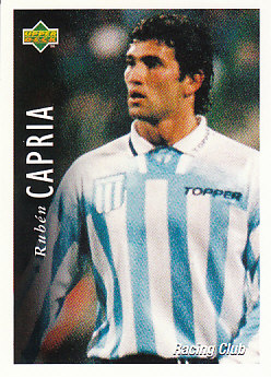 Ruben Capria Racing Club 1995 Upper Deck Futbol Argentina #48