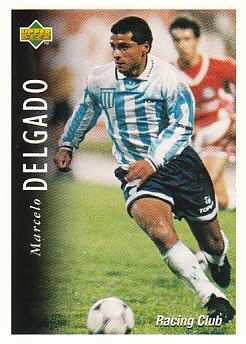 Marcelo Delgado Racing Club 1995 Upper Deck Futbol Argentina #50