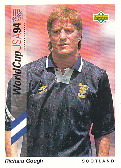 Richard Gough Scotland Upper Deck World Cup 1994 Preview Eng/Ger #7