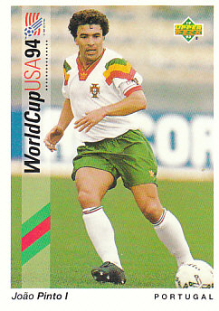Joao Pinto l Portugal Upper Deck World Cup 1994 Preview Eng/Ger #10