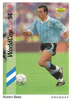 Ruben Sosa Uruguay Upper Deck World Cup 1994 Preview Eng/Ger #13