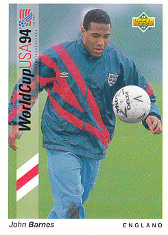 John Barnes England Upper Deck World Cup 1994 Preview Eng/Ger #28