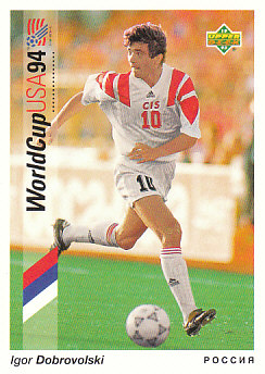 Igor Dobrovolski Russia Upper Deck World Cup 1994 Preview Eng/Ger #29