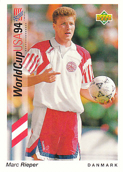Marc Rieper Denmark Upper Deck World Cup 1994 Preview Eng/Ger #33