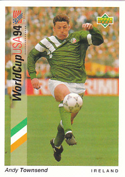 Andy Townsend Republic of Ireland Upper Deck World Cup 1994 Preview Eng/Ger #44