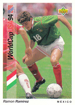 Ramon Ramirez Mexico Upper Deck World Cup 1994 Preview Eng/Ger #49