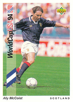 Ally McCoist Scotland Upper Deck World Cup 1994 Preview Eng/Ger #59