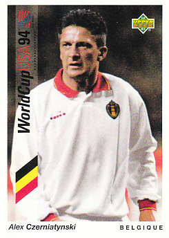Alex Czerniatynski Belgium Upper Deck World Cup 1994 Preview Eng/Ger #70