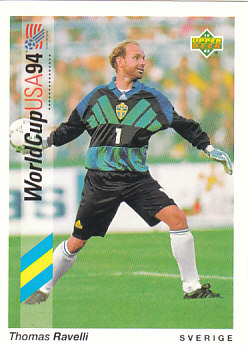 Thomas Ravelli Sweden Upper Deck World Cup 1994 Preview Eng/Ger #94