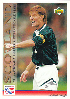 Richard Gough Scotland Upper Deck World Cup 1994 Preview Eng/Ger International All-Stars #106