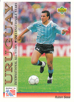 Ruben Sosa Uruguay Upper Deck World Cup 1994 Preview Eng/Ger International All-Stars #121