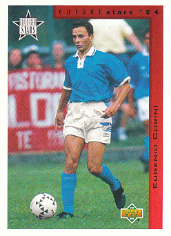 Eugenio Corini Italy Upper Deck World Cup 1994 Eng/Ger Future Stars #233