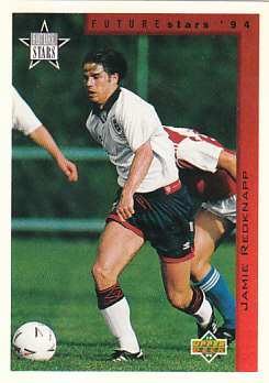 Jamie Redknapp England Upper Deck World Cup 1994 Eng/Ger Future Stars #244