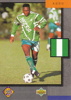 Nigeria Upper Deck World Cup 1994 Eng/Ger Road To Finals #UD19