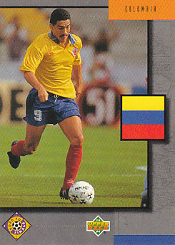 Colombia Upper Deck World Cup 1994 Eng/Ger Road To Finals #UD21