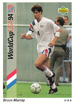 Bruce Murray USA Upper Deck World Cup 1994 Preview Eng/Spa #4