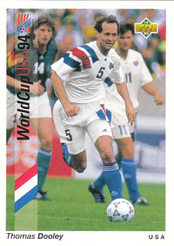 Thomas Dooley USA Upper Deck World Cup 1994 Preview Eng/Spa #5