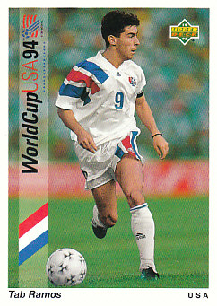 Tab Ramos USA Upper Deck World Cup 1994 Preview Eng/Spa #9