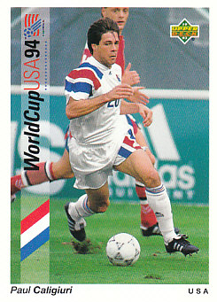 Paul Caligiuri USA Upper Deck World Cup 1994 Preview Eng/Spa #20