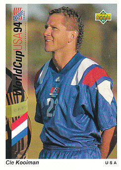 Cle Kooiman USA Upper Deck World Cup 1994 Preview Eng/Spa #23