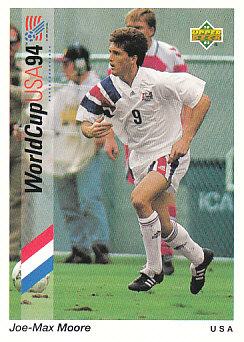 Joe-Max Moore USA Upper Deck World Cup 1994 Preview Eng/Spa #26