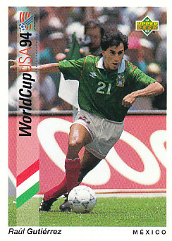 Raul Gutierrez Mexico Upper Deck World Cup 1994 Preview Eng/Spa #31