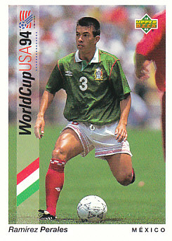 Ramirez Perales Mexico Upper Deck World Cup 1994 Preview Eng/Spa #33