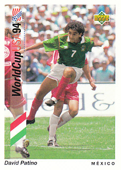 David Patino Mexico Upper Deck World Cup 1994 Preview Eng/Spa #37