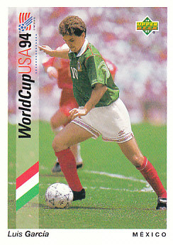 Luis Garcia Mexico Upper Deck World Cup 1994 Preview Eng/Spa #40