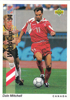 Dale Mitchell Canada Upper Deck World Cup 1994 Preview Eng/Spa #48