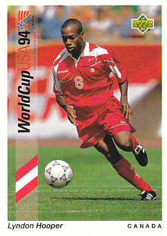 Lyndon Hooper Canada Upper Deck World Cup 1994 Preview Eng/Spa #53