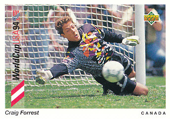 Craig Forrest Canada Upper Deck World Cup 1994 Preview Eng/Spa #57