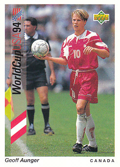 Geoff Aunger Canada Upper Deck World Cup 1994 Preview Eng/Spa #59