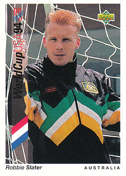 Robbie Slater Australia Upper Deck World Cup 1994 Preview Eng/Spa #67