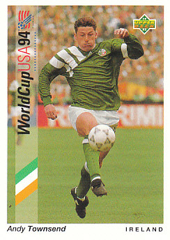 Andy Townsend Republic of Ireland Upper Deck World Cup 1994 Preview Eng/Spa #83