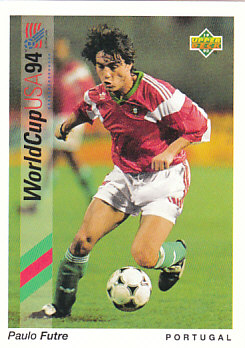 Paulo Futre Portugal Upper Deck World Cup 1994 Preview Eng/Spa #89