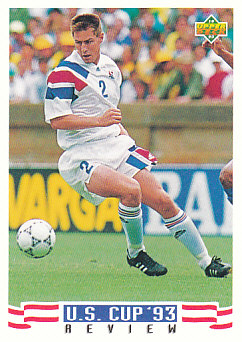 Mike Lapper USA Upper Deck World Cup 1994 Preview Eng/Spa US Cup 93 Review #132